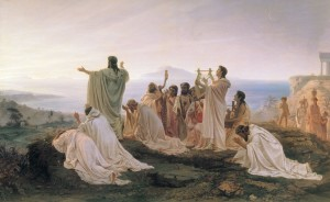 """Pythagoreans Celebrate Sunrise"" by Fyodor Bronnikov"